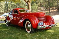 55 Years Owned: Restored 1937 Cord 810 Beverly