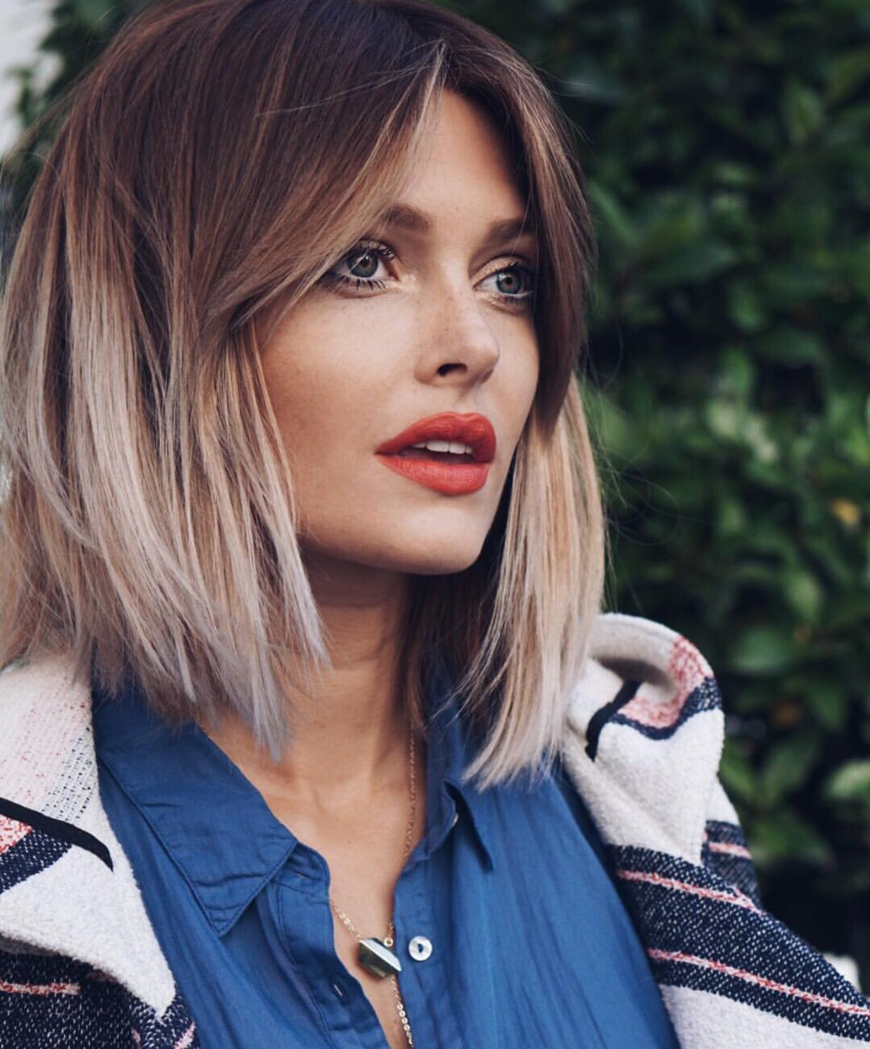 two-toned hair | hair | pinterest | hair coloring, hair style and
