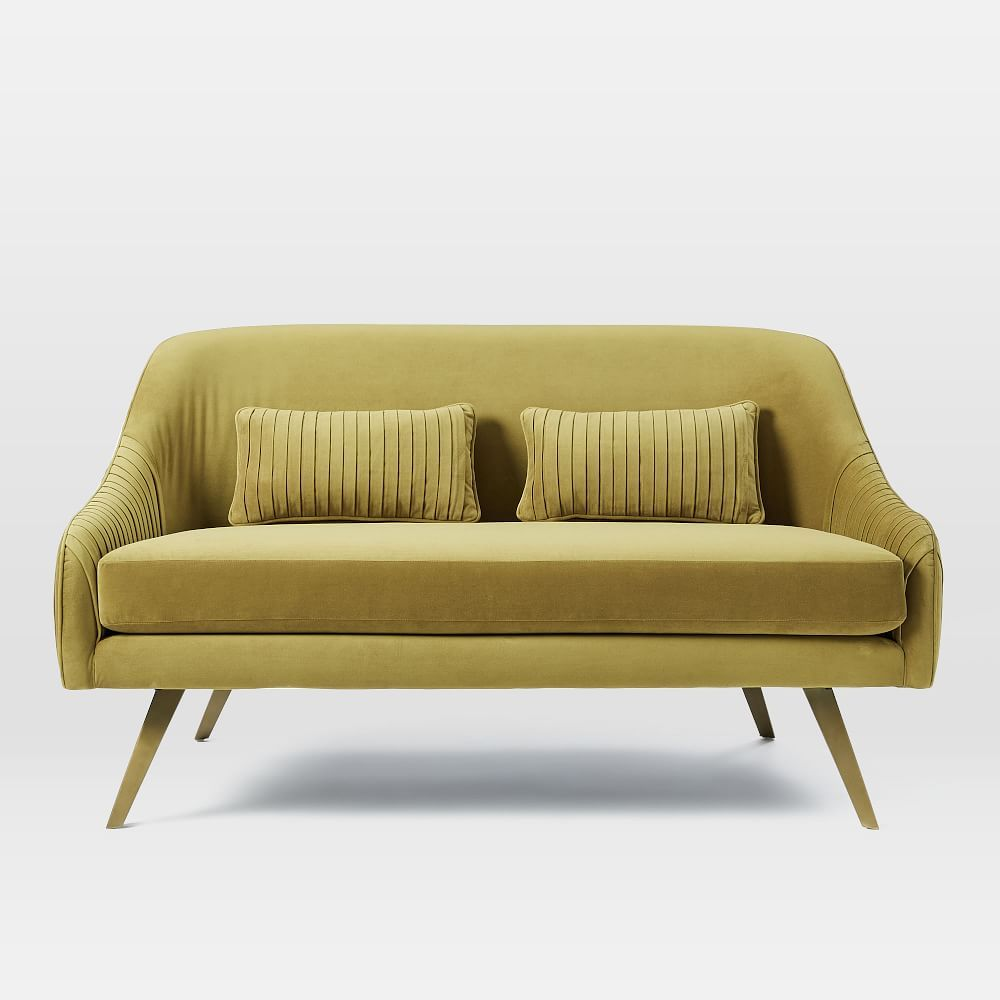 Sofa 60er Roar Rabbit Glamour Velvet Sofa 60