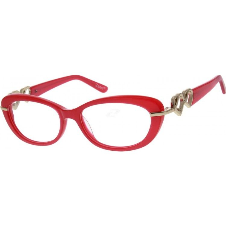 Acetate Full-Rim Frame6260 | Cat eyes, Heart shapes and Shapes