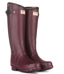 Hunter + rag & bone tall Wellington boot.