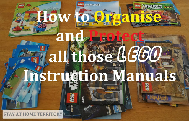 Stay at Home Territory: How to Organise and Protect LEGO Instruction Manuals#home #instruction #lego #manuals #organise #protect #stay #territory