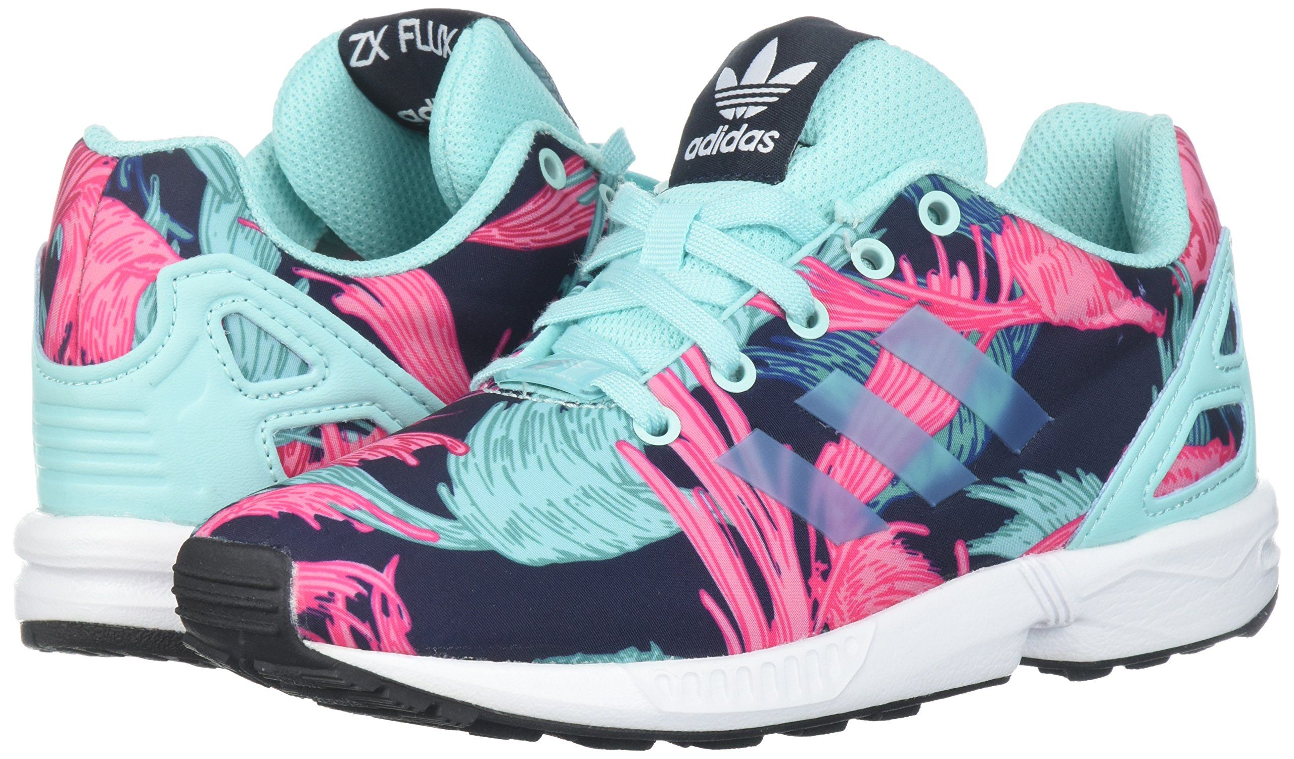 adidas Originals Girls ZX Flux C RunningShoes Energy Aqua