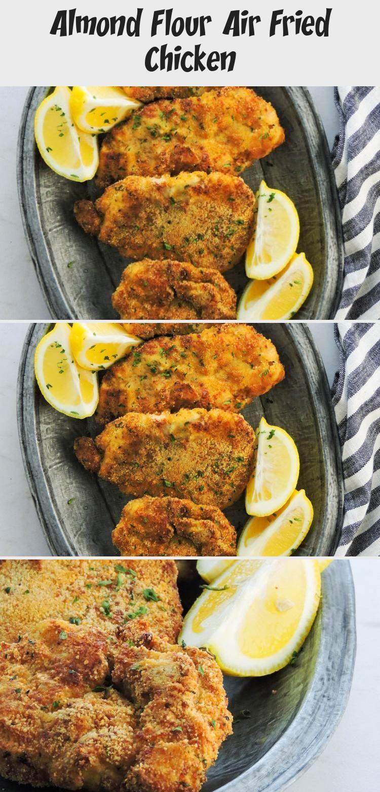 Almond Flour Air Fried Chicken in 2020 Air fried chicken
