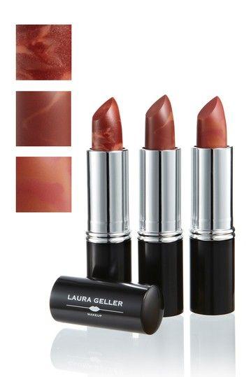 Laura Geller New York Italian Marble Lipstick Trio Berry