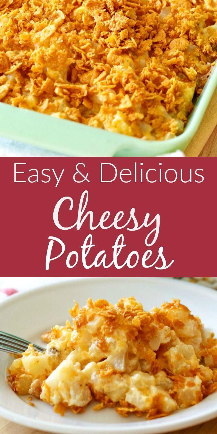 Easy Cheesy Potatoes Recipe