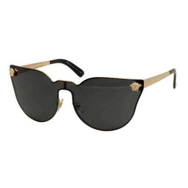 versace sunglasses for women versace sunglasses ve2120s 100287 c black gold