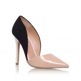 ANDI Black High Heel Court Shoes by Miss KG | Kurt Geiger