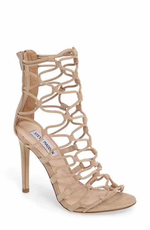 804ecd7a572 Steve Madden Mayfair Latticework Tall Sandal (Women)
