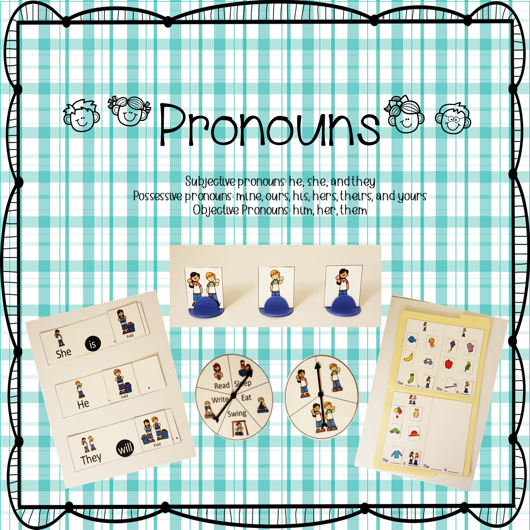 Pronouns Activities For Subjective Objective And