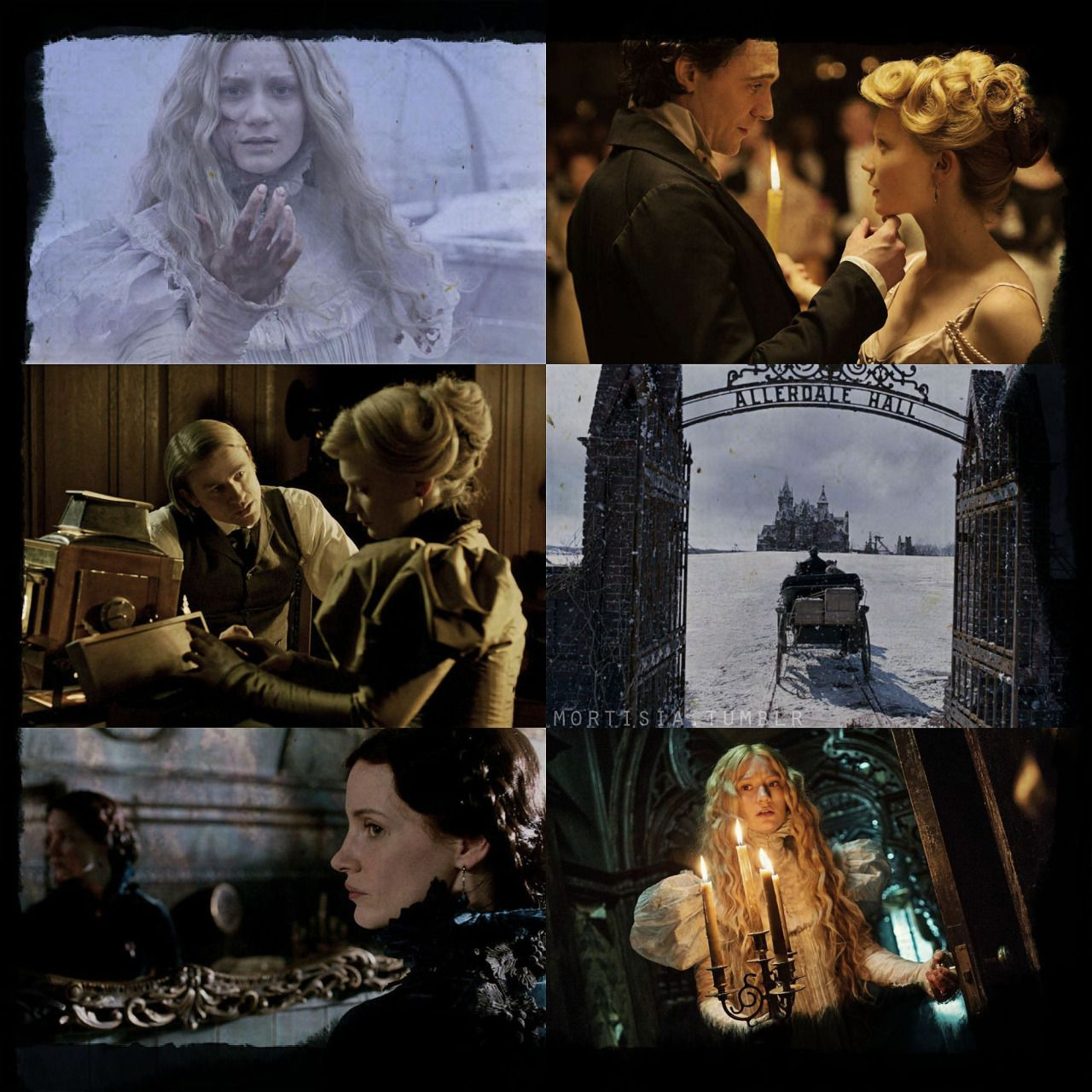 Crimson Peak (2015) In the aftermath of a family tragedy, an aspiring author is torn between love for her childhood friend and the temptation of a mysterious outsider. Trying to escape the ghosts of...
