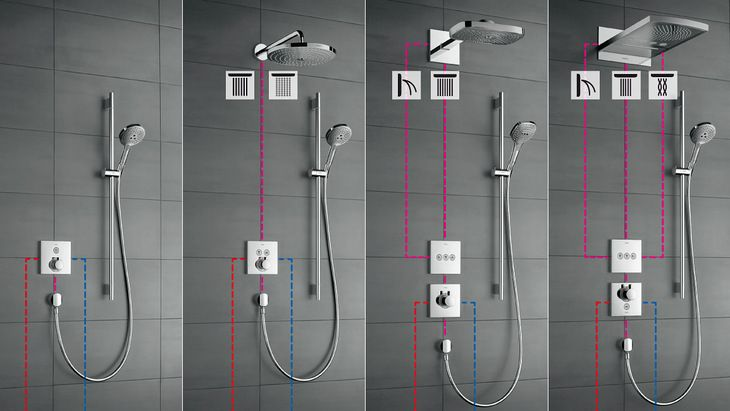 Hans grohe inbouw douchekraan google search bali pinterest
