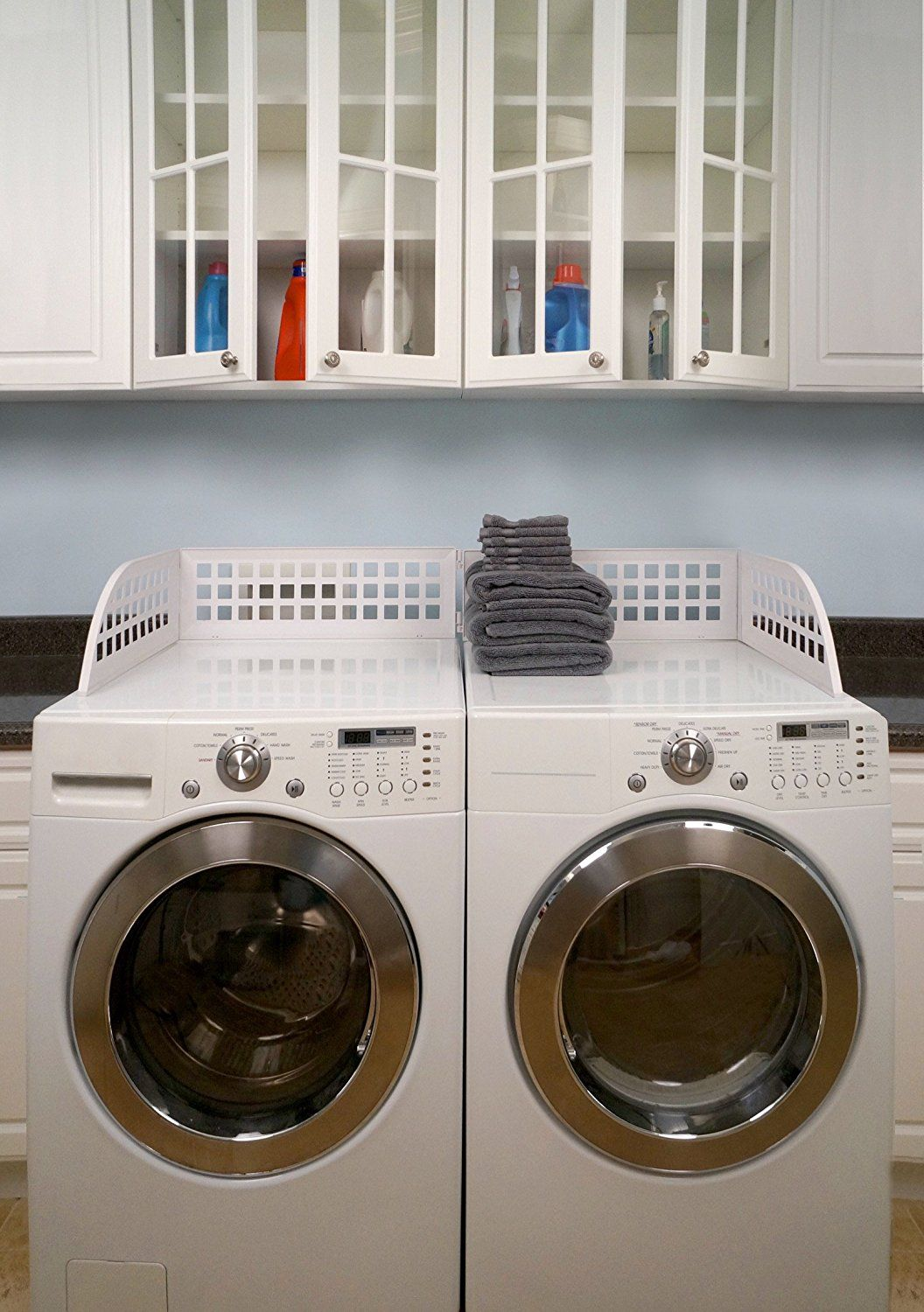 Haus Maus Laundry Guard Keep Laundry From Falling Off Your Front Loading Washer And Dryer Laundry Room Laundry Room Organization Laundry Room Design