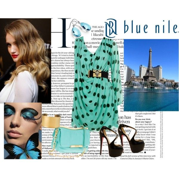 """Love at First Sight, Sponsored by Blue Nile"" by marthavk on Polyvore"