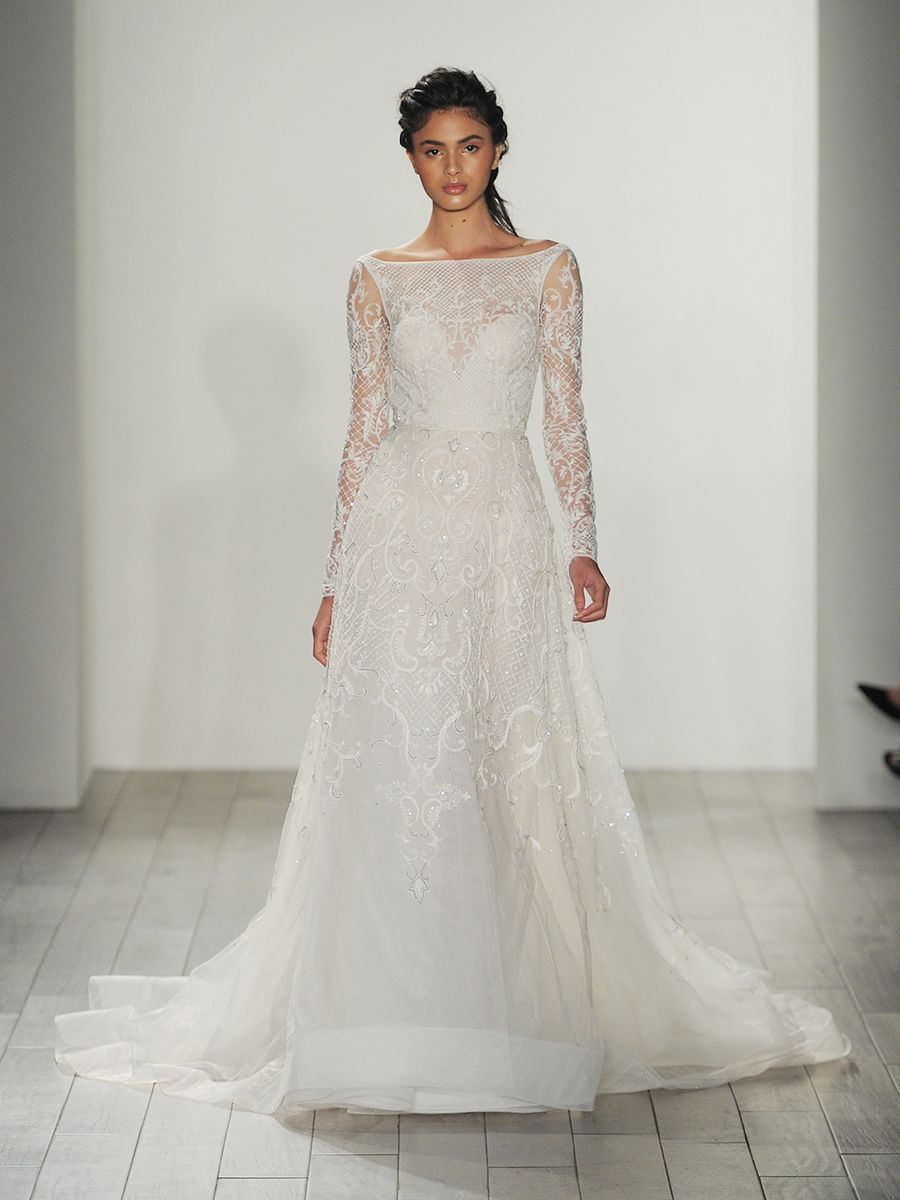See Lazaro Wedding Dresses From Bridal Fashion Week Wedding
