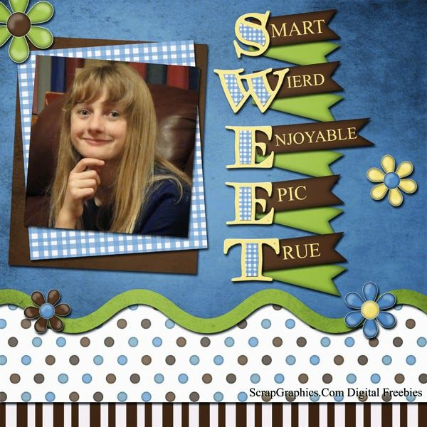 Free Digital Scrapbook Papers and Elements: CK5 Sw