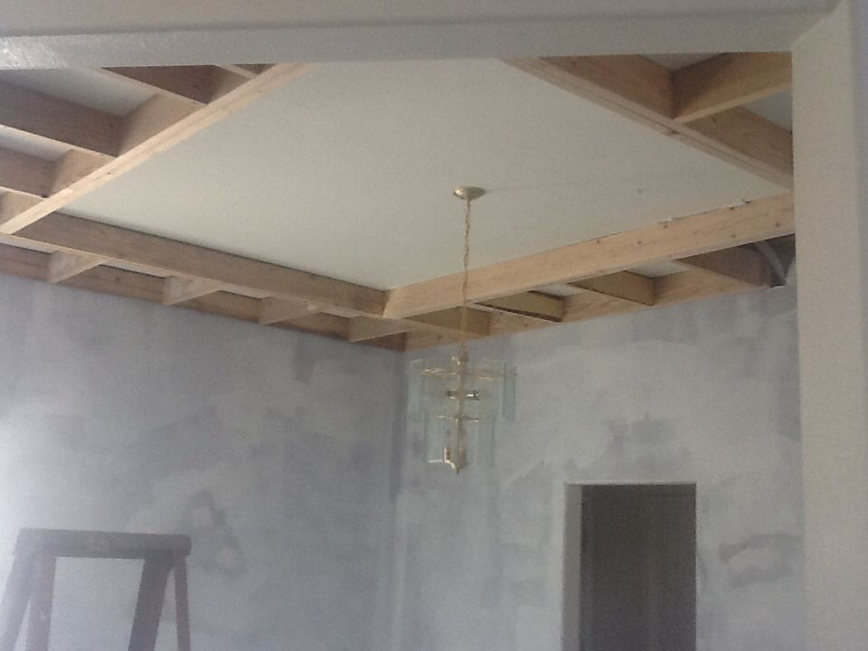 Perfect Dining Room   Framing A Trayed Ceiling To Hide A Bulk Head That Costs More  To
