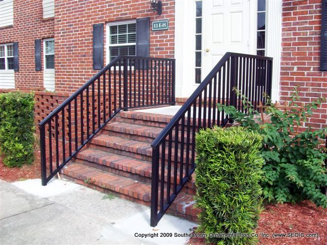 Metal Porch Railings Rod Iron Porch Railings Rails
