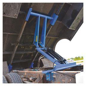 Pierce Arrow Flatbed Truck Hoist Kit 7 5 Ton Capacity 8ft To