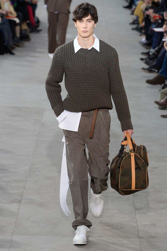 Louis Vuitton Fall 2017 Menswear Fashion Show Minimalist Fashion Men Menswear Mens Fashion