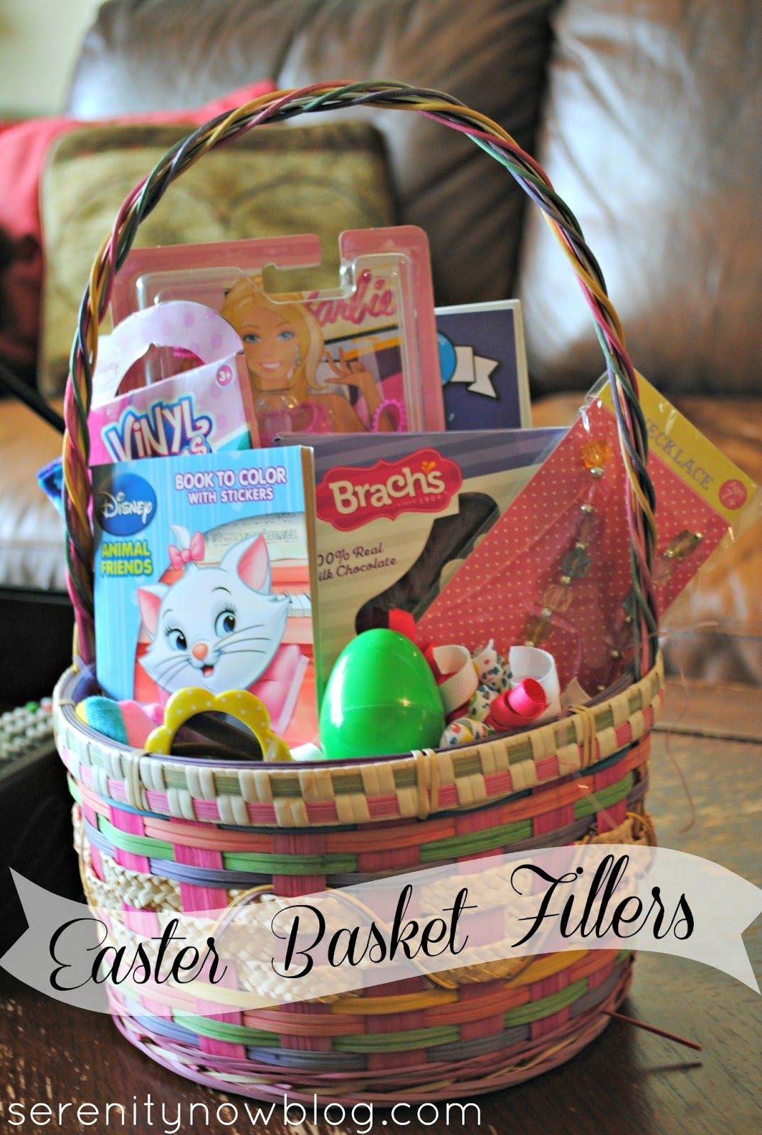 Cheap gift basket idea serenity now easter basket
