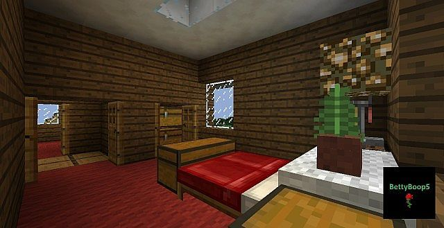 Farm House 3 Bedroom Minecraft Project  Minecraft  Pinterest Custom Minecraft Interior Design Bedroom 2018