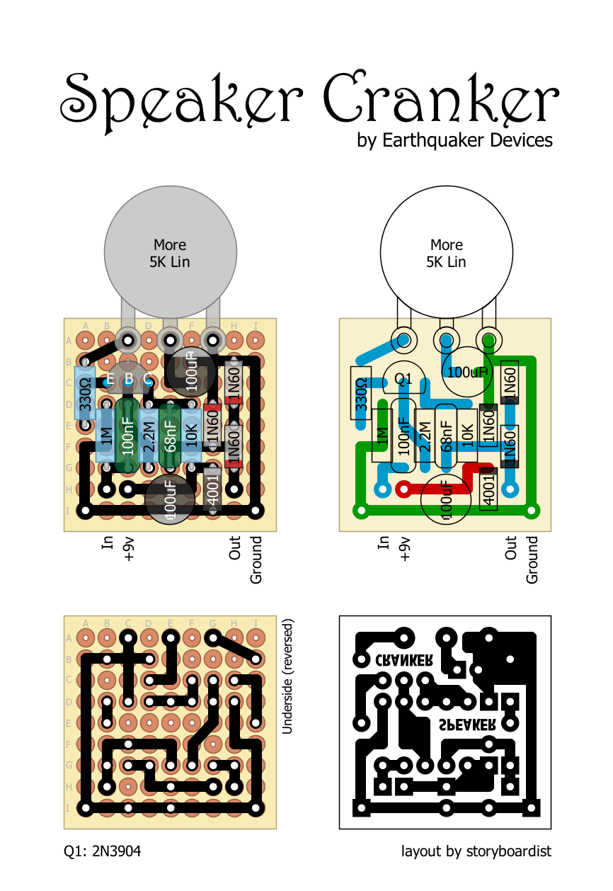 This is a library of perfboard and single-sided PCB effect layouts for  guitar and bass for pedal building en… | Earthquaker devices, Diy guitar  pedal, Guitar pedals  Pinterest