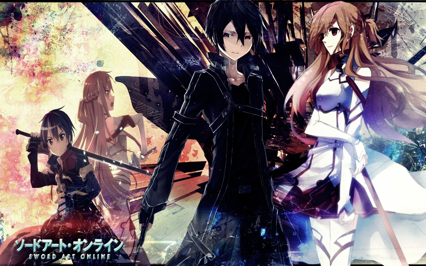 Sword Art Online Wallpaper By Lyuno On Deviantart Sword Art Online Wallpaper Sword Art Online Kirito Sword Art Online