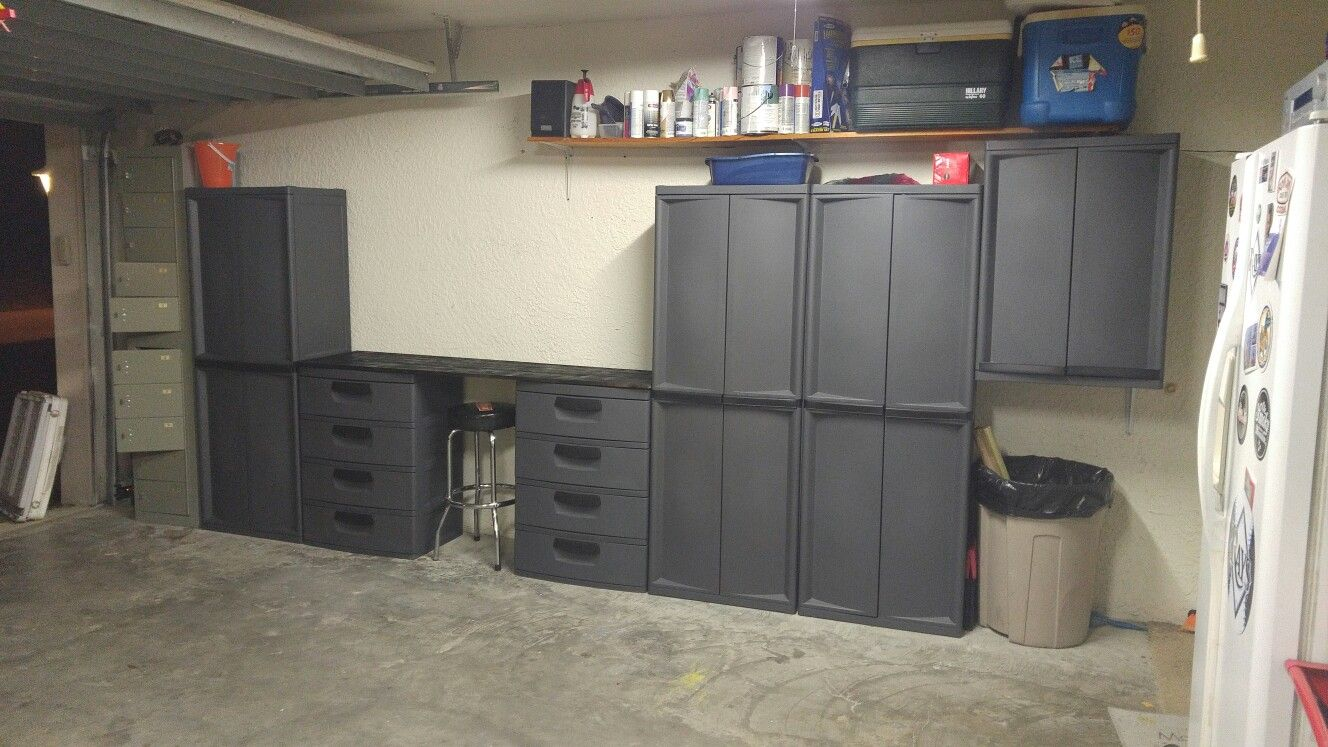 Garage Storage Locker, Sterilite Garage Storage Cabinets