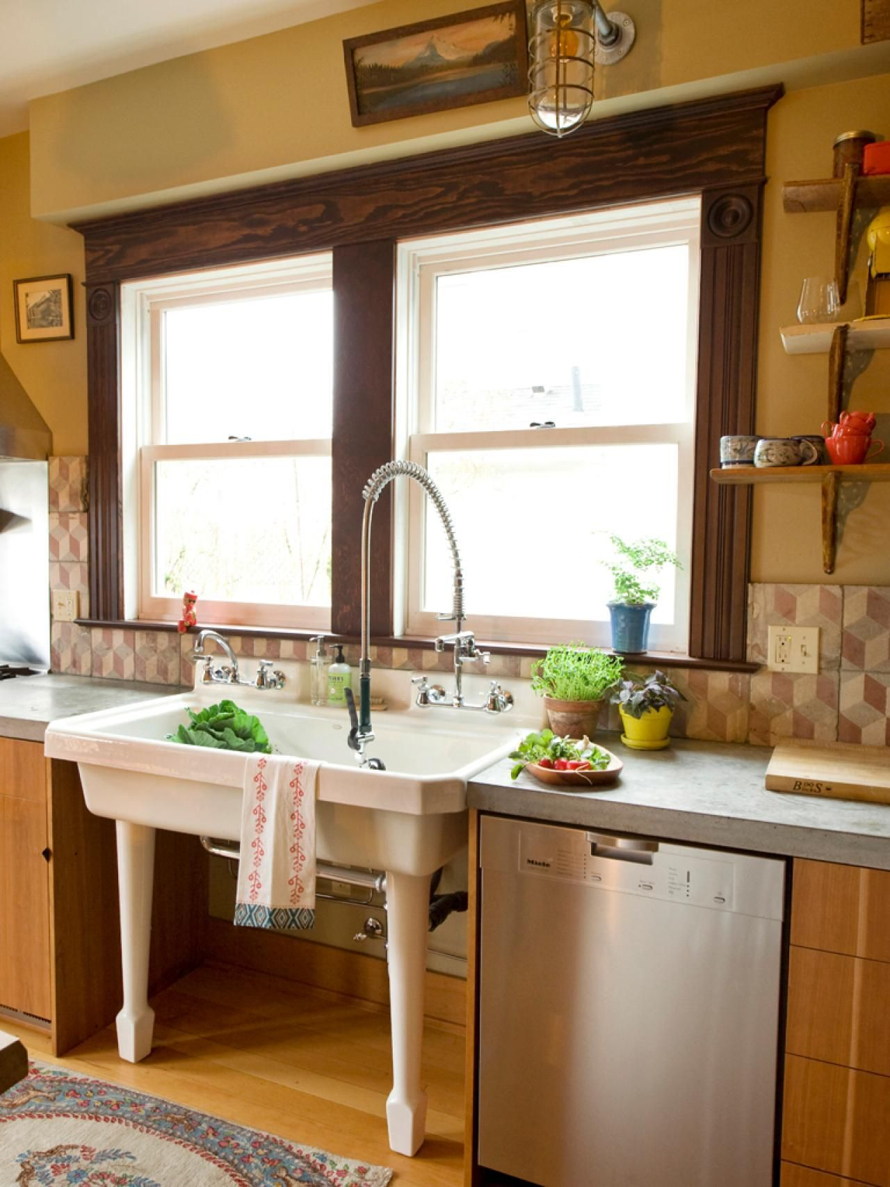 A Century-Old Kitchen Comes to Life | Kitchens, Sinks and Hgtv