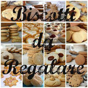Biscotti Da Regalare Ricette Dolci Biscotti Cookies E Biscotti