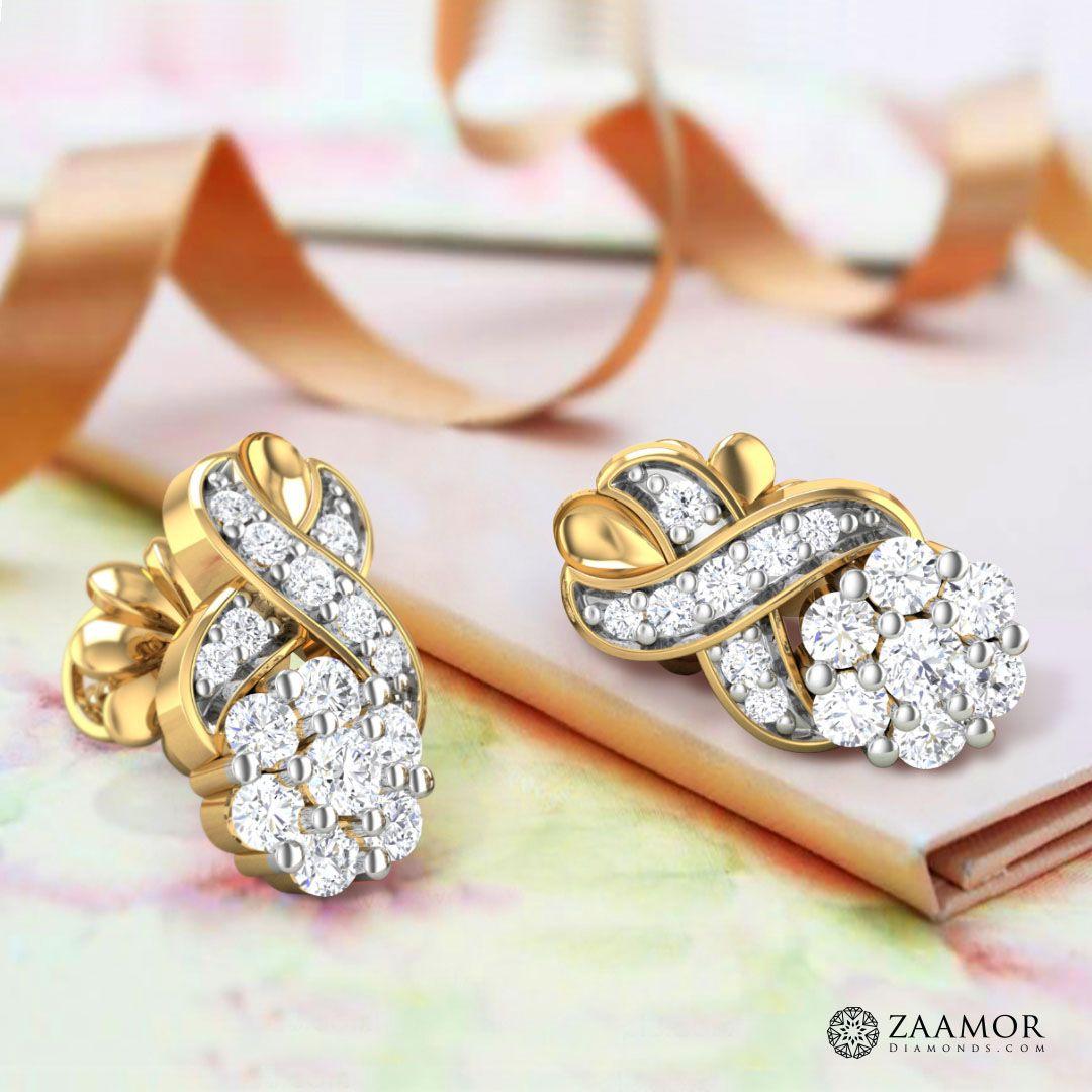 Atropine diamond earrings zaamordiamonds earrings diamondearrings