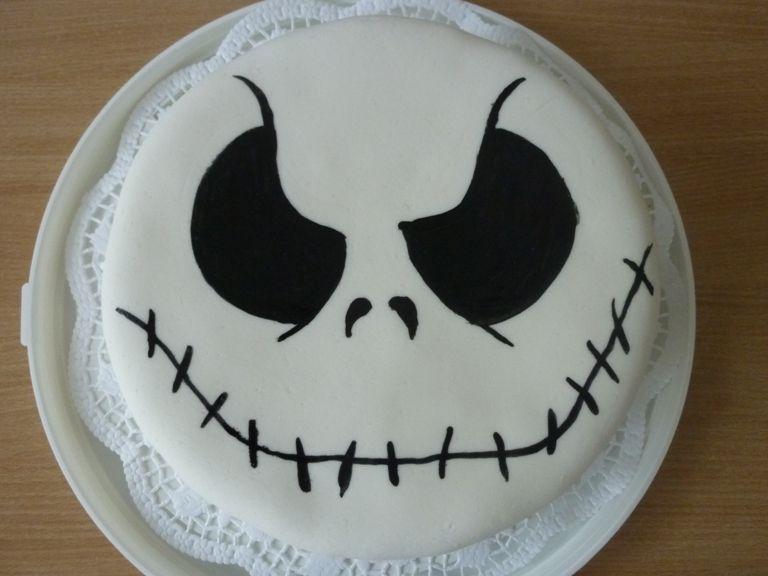 Jack Skellington Cake by VulpesLupinadeviantartcom on deviantART