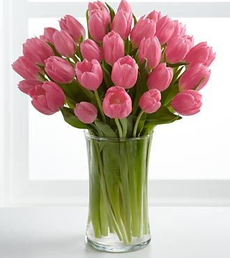 Tulips Send Tulip Bouquets For Delivery Ftd Pink Tulips Bouquet Tulips Arrangement Tulip Bouquet