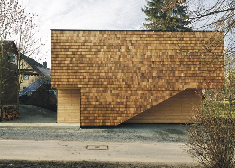 Best Youth Centre Extension By Bernd Zimmermann With Wooden 400 x 300