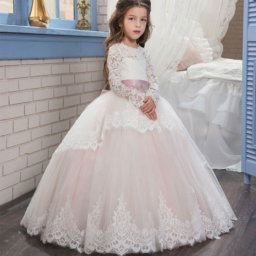 Charming Kids Pageant Formal Ball Gown,Princess Flower Girl