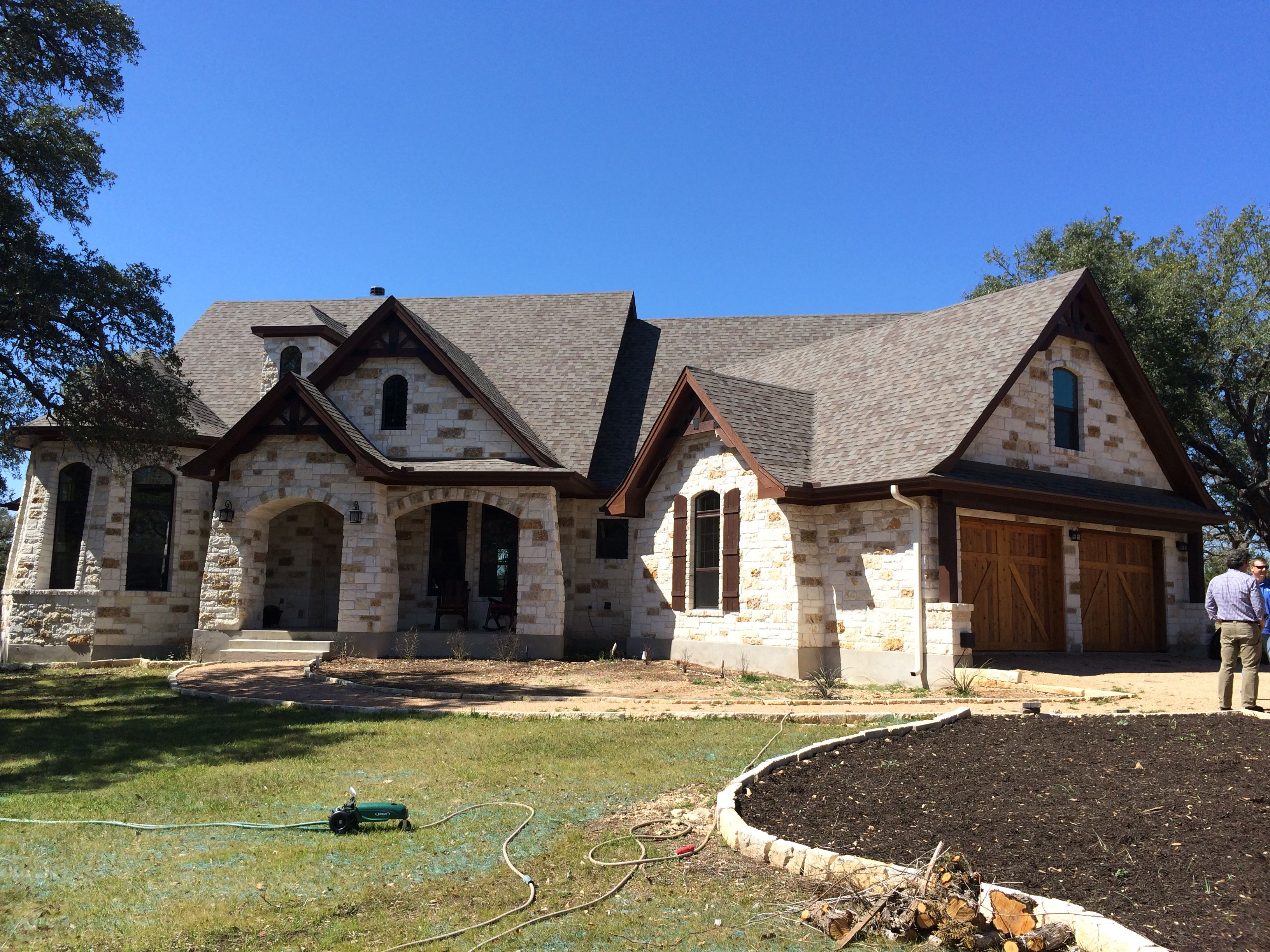 Plan 16806wg Attractive In Stone Craftsman House House Plans Craftsman Style House Plans