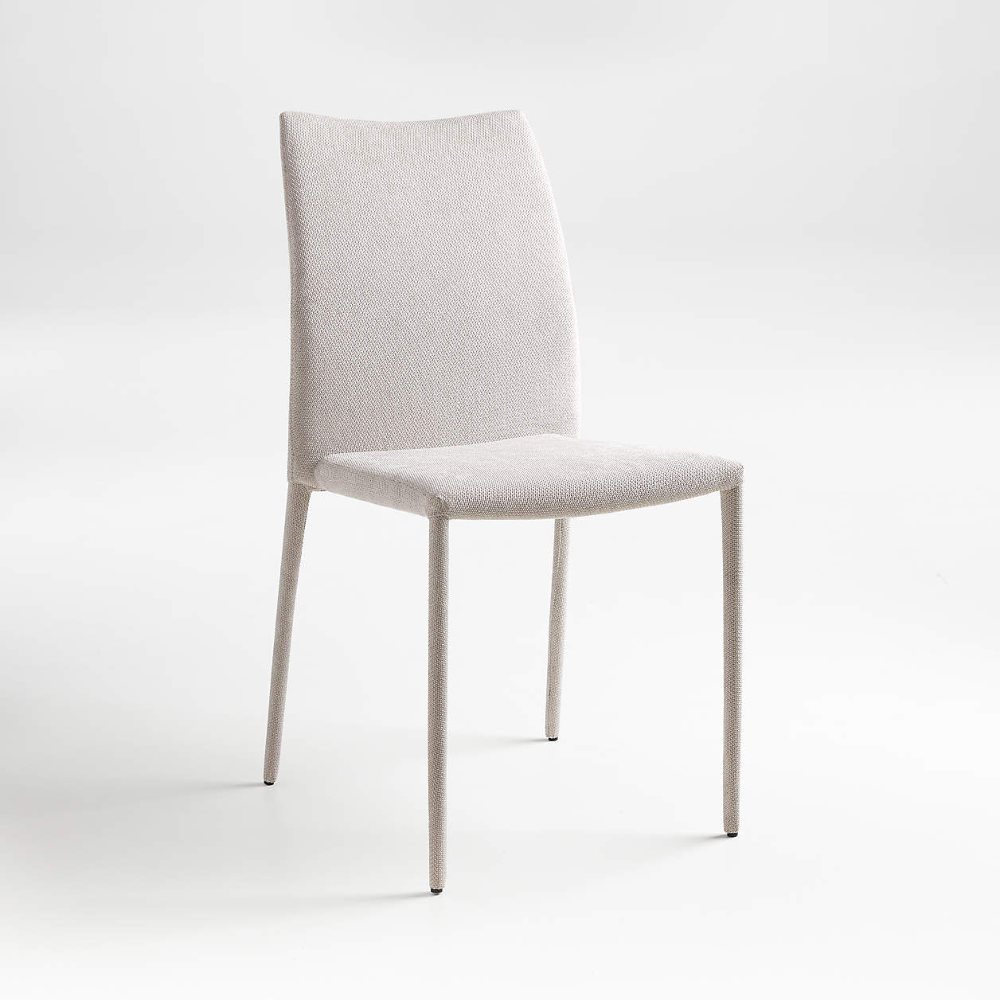 Sonnet Light Grey Side Chair Reviews Crate And Barrel In 2021 Grey Side Chairs Side Chairs Gray Dining Chairs