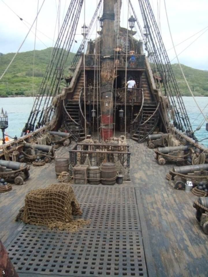 Tall Ship Upper Deck | Tall Ships | Pinterest | Upper deck ...