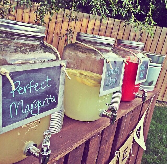 Summer Adult Drinks!
