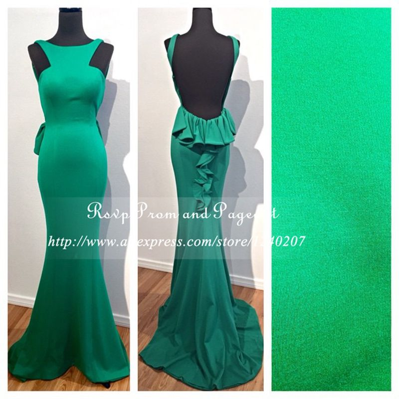Robes de cocktail vert emeraude