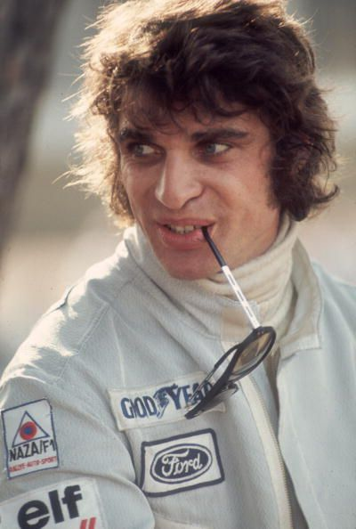French racing driver Francois Cevert at the Monaco Grand Prix 3rd June 1973