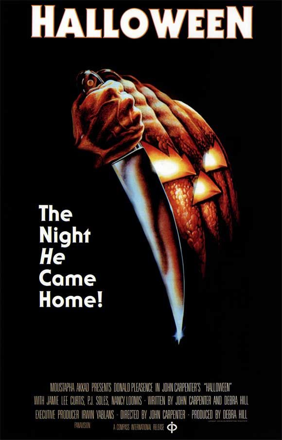 history by design 63 examples of horror movie posters halloween - Halloween Movie History