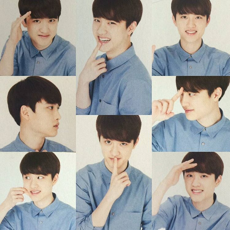 """151003 - D.O. for Official EXO-L Japan Book. © hasubando __ #디오 #경수 #엑소 #dyo #kyungsoo #exo #exol _ WHY SO CUTE? '-'"""