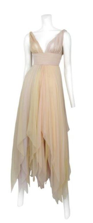 Chiffon Scarf Dress