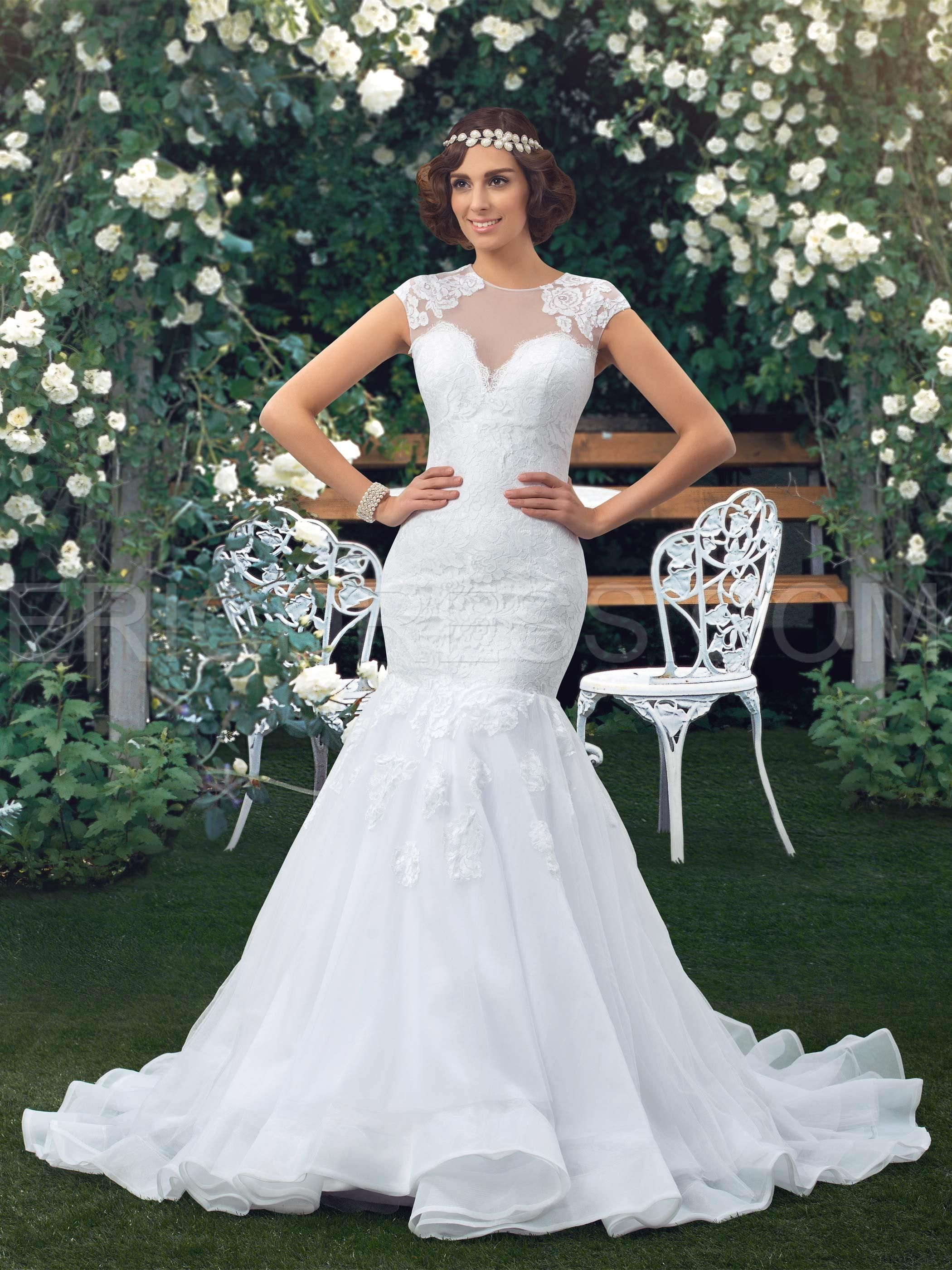 Sweetheart trumpet / mermaid taffeta bridal gown if only