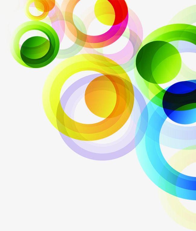 دوائر ملونة Powerpoint Background Design Background Design Vector Background Design