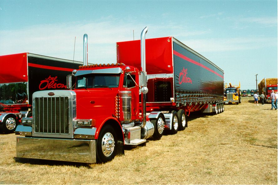 Custom Big Rigs Tricked Out Truck Show Photographs Big Rig