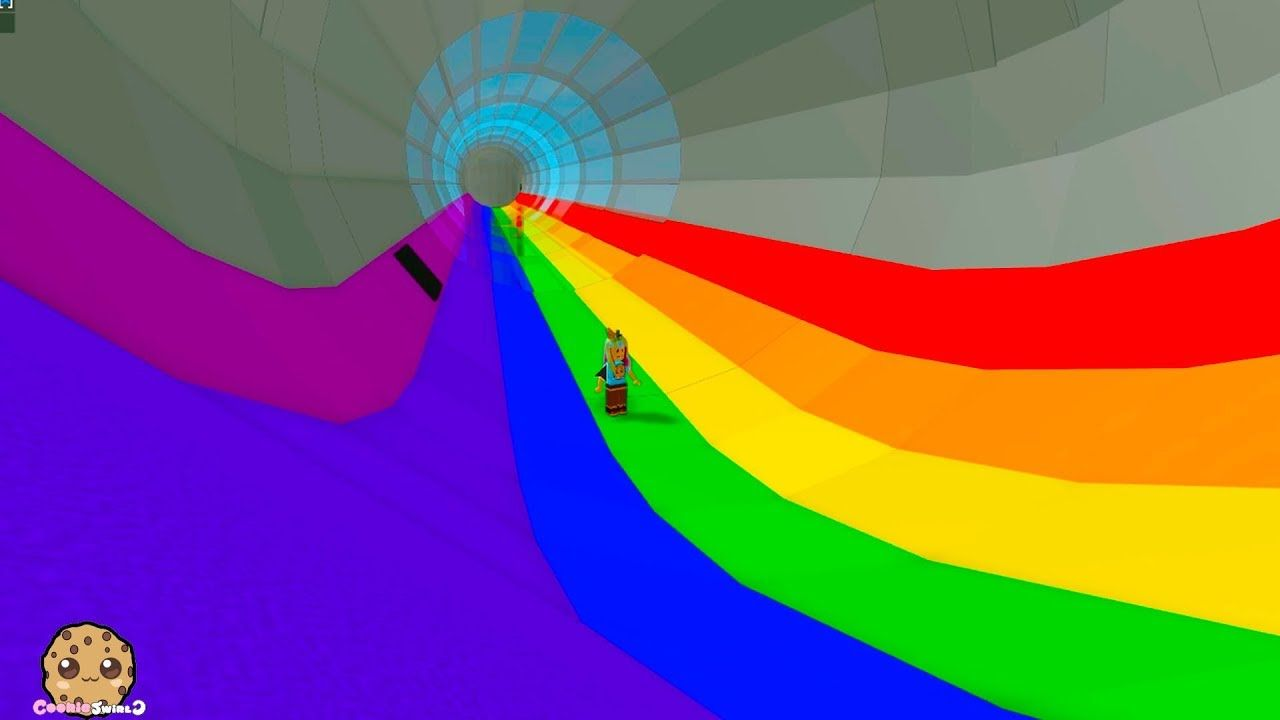 End Of The Rainbow Following Colorful Rainbows Tycoon Roblox