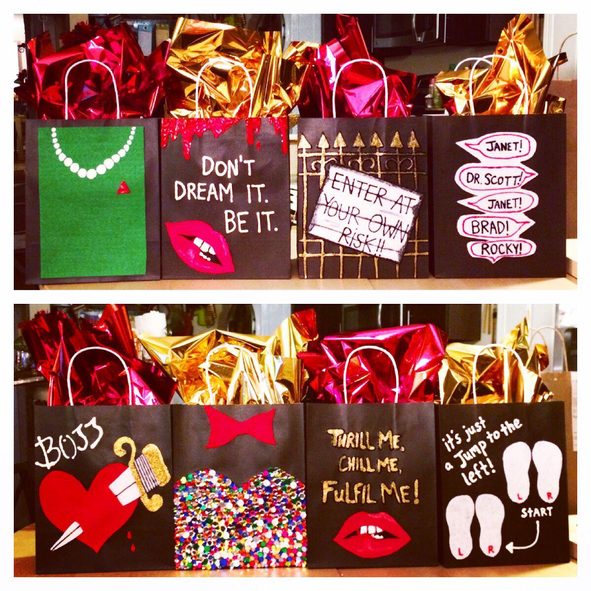 Rocky Horror Gift Bags Bachelorette Party Rocky Horror Rocky